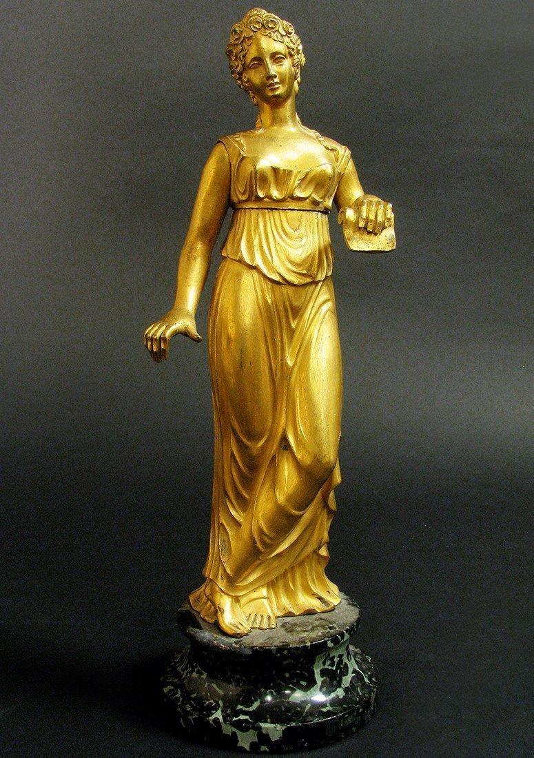 19th C. Fine Bronze Figural Statue