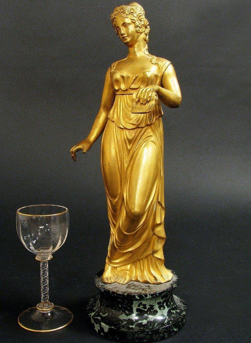 19th C. Fine Bronze Figural Statue - 2