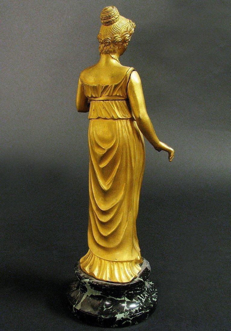 19th C. Fine Bronze Figural Statue - 4