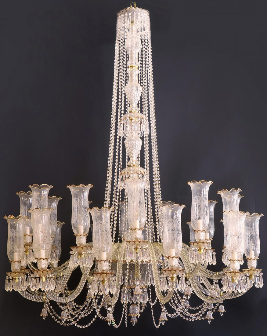Palatial Baccarat Style Chandelier 24 lights - 3
