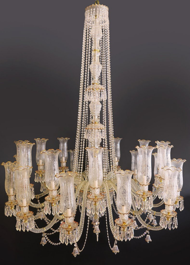Palatial Baccarat Style Chandelier 24 lights - 4