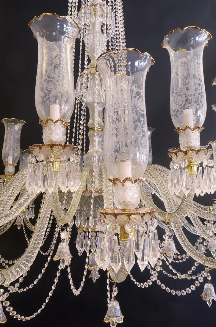 Palatial Baccarat Style Chandelier 24 lights - 5