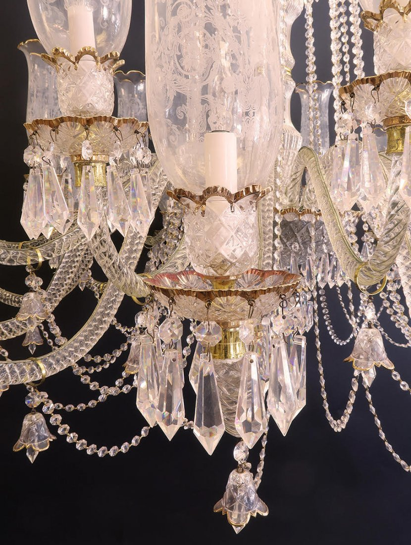 Palatial Baccarat Style Chandelier 24 lights - 6