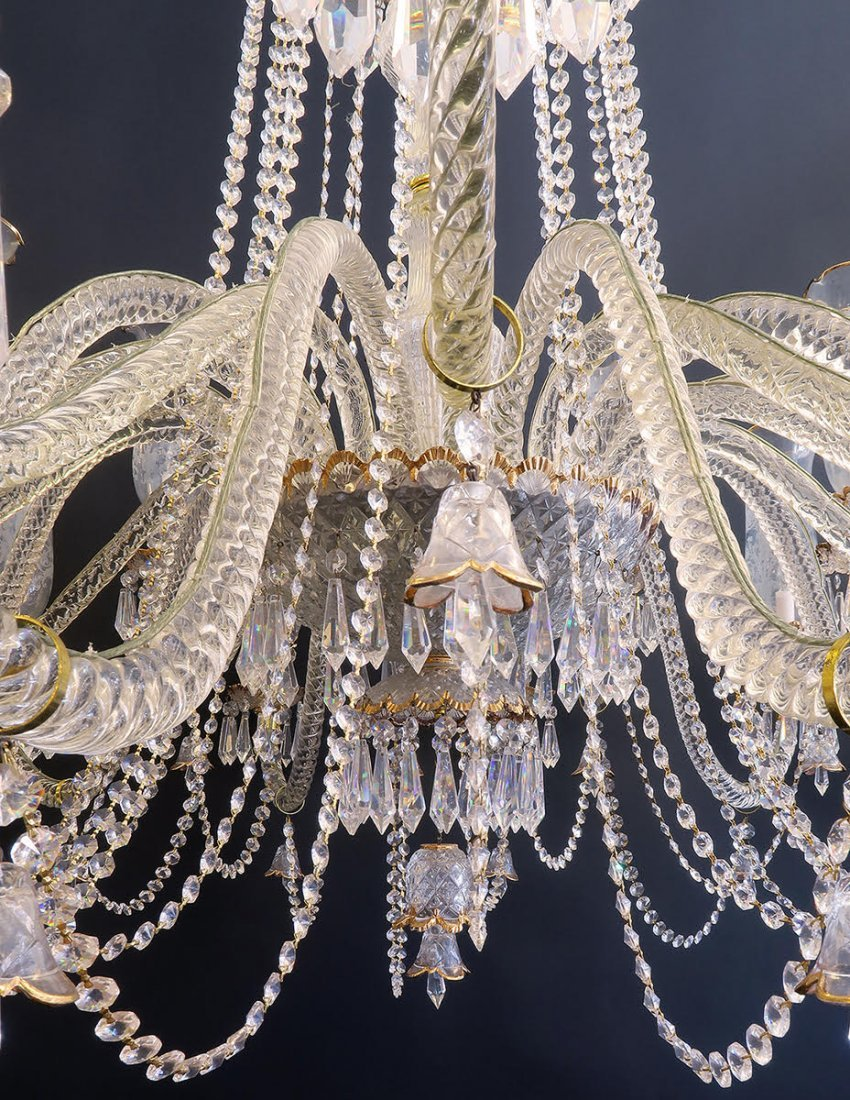 Palatial Baccarat Style Chandelier 24 lights - 7