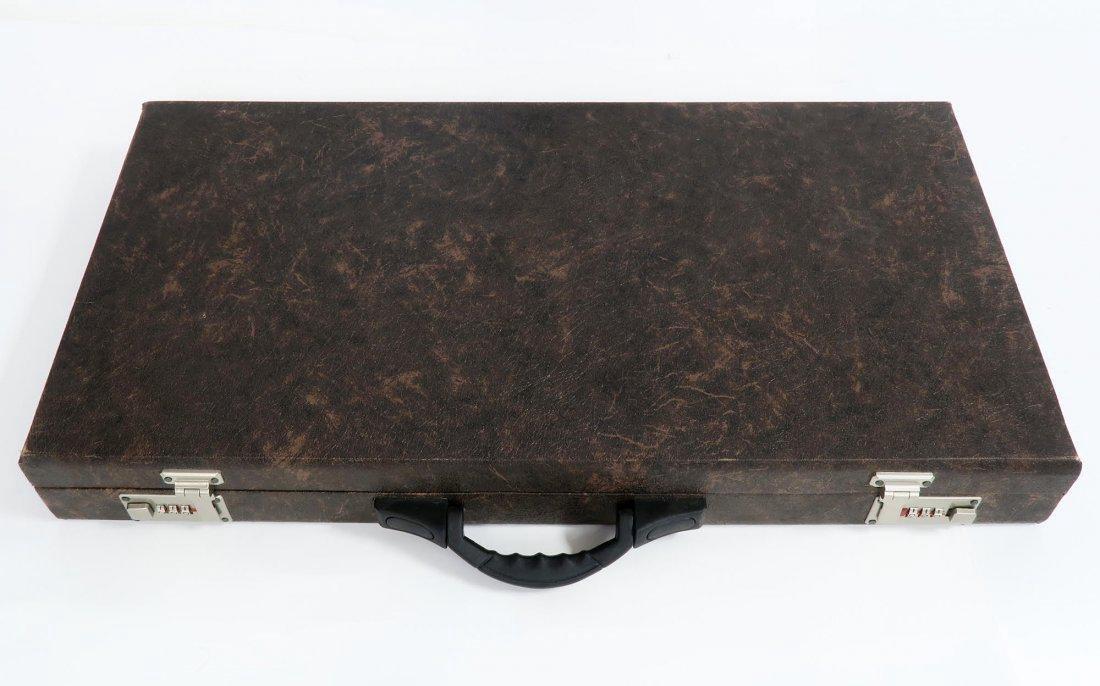 Rare Hand Made (Khatam) Persian Backgammon - 6