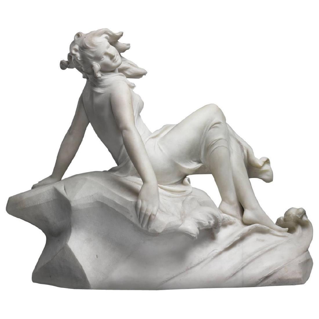 "Figure of a Sea Water Mermaid Nymph by ""Dante Zoi"""