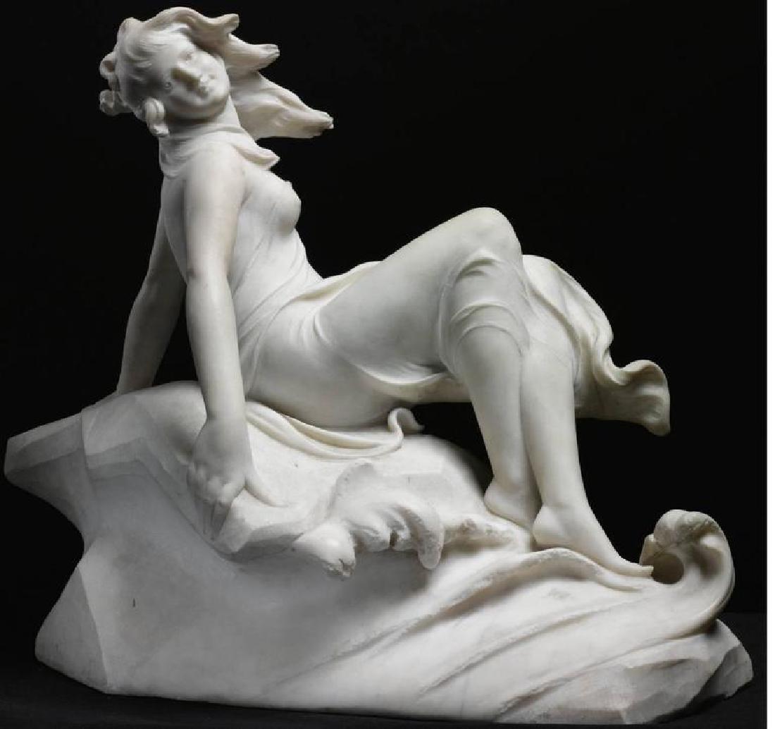 "Figure of a Sea Water Mermaid Nymph by ""Dante Zoi"" - 2"