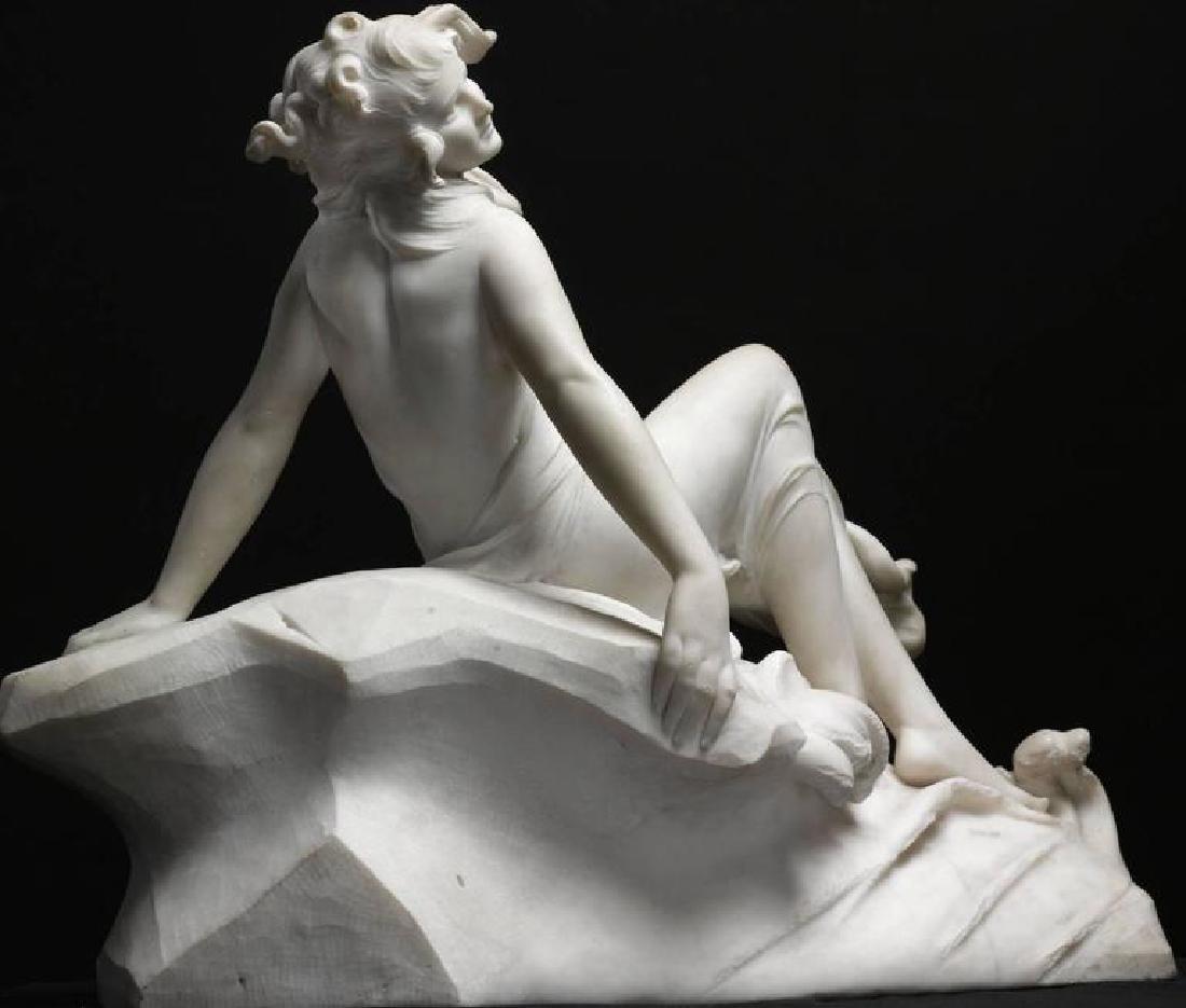 "Figure of a Sea Water Mermaid Nymph by ""Dante Zoi"" - 3"