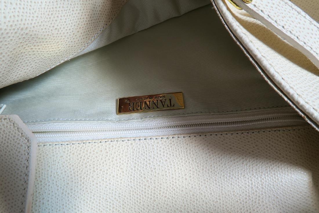 """""""TANNER"""" ITALIAN HANDBAG PURSE - 7"""