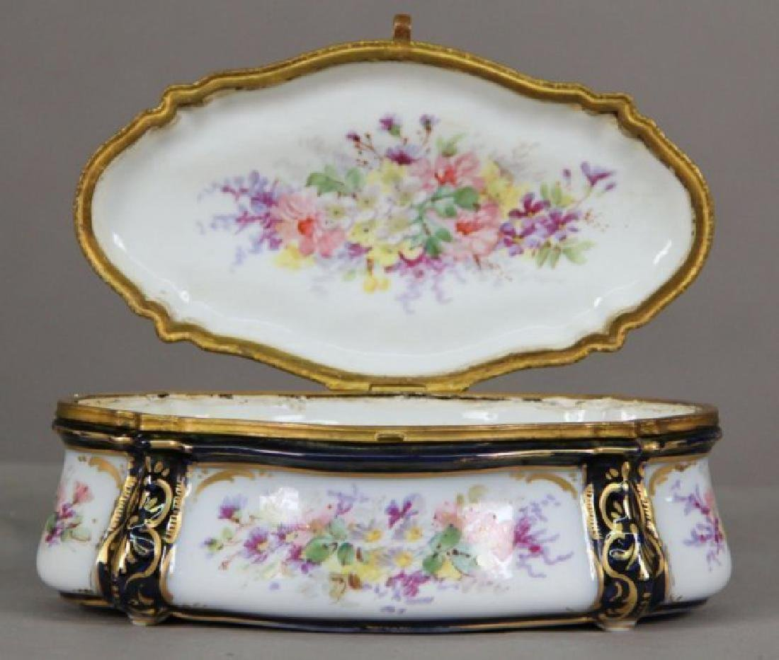 19th C. Sevres Style Jewelry Box - 2