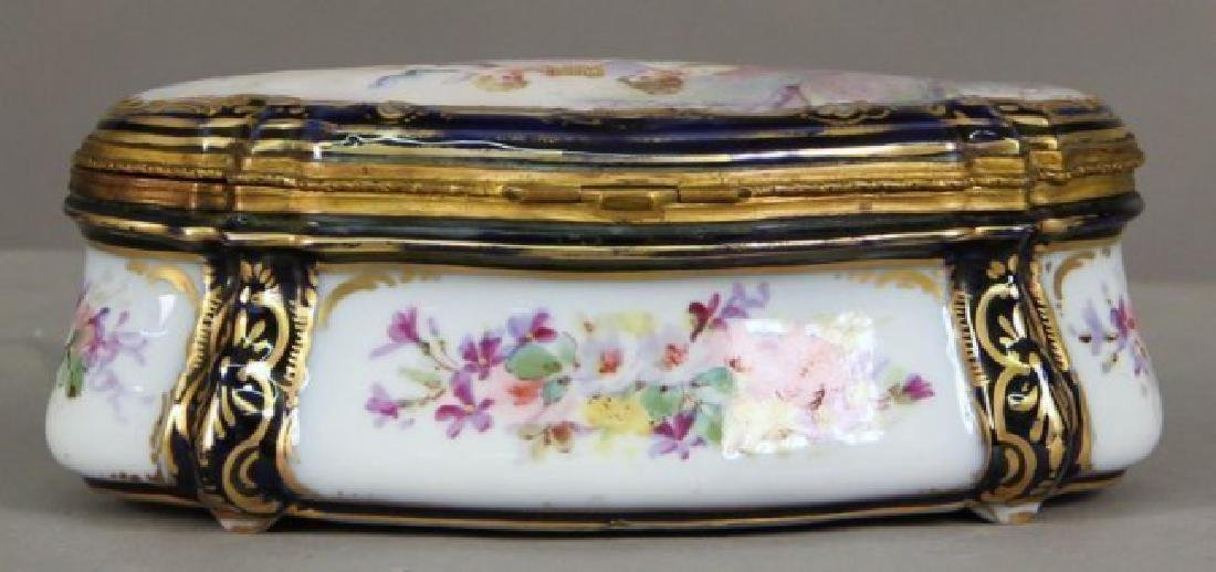 19th C. Sevres Style Jewelry Box - 3