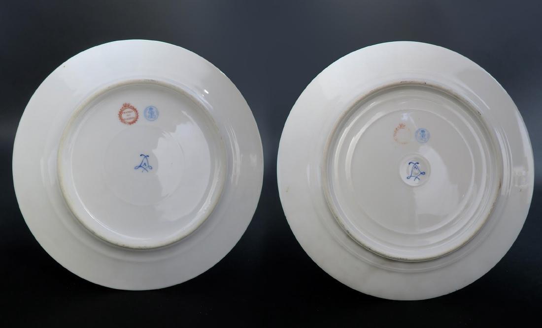 Set of 5 Hand Painted Portrait Sevres Plates - 8