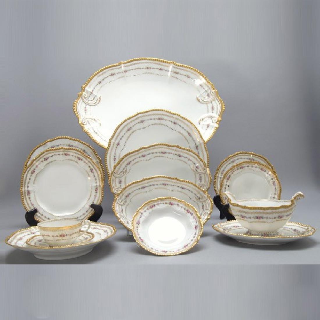 Elite Limoges Porcelain Partial Dinner Service