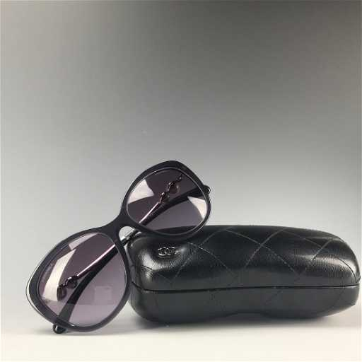 4143674d457 Authentic Cat Eye Pearl Chanel Sunglasses. See Sold Price