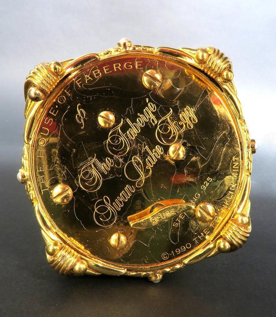 Faberge Swan Lake Imperial Jeweled Musical Egg - 9