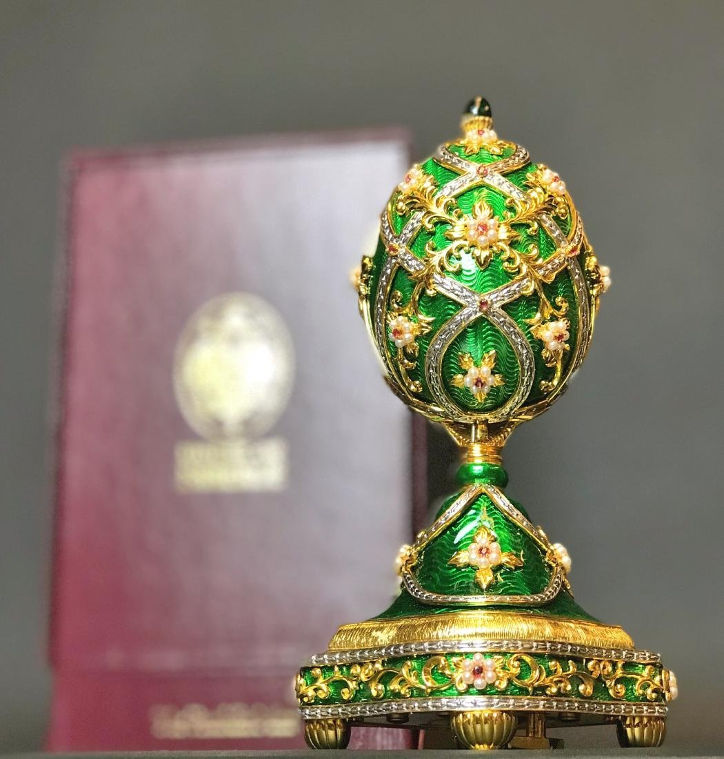 FABERGE IMPERIAL JEWELED EGG