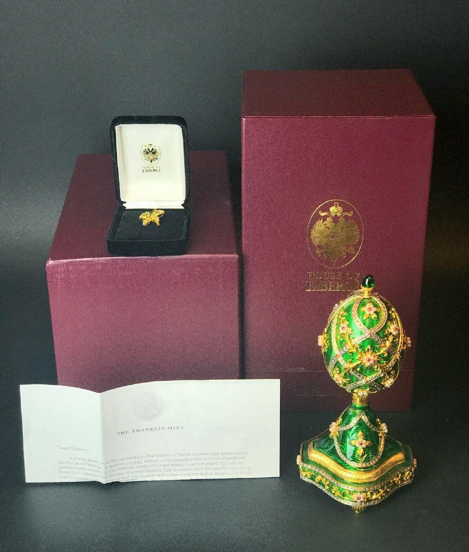 FABERGE IMPERIAL JEWELED EGG - 3