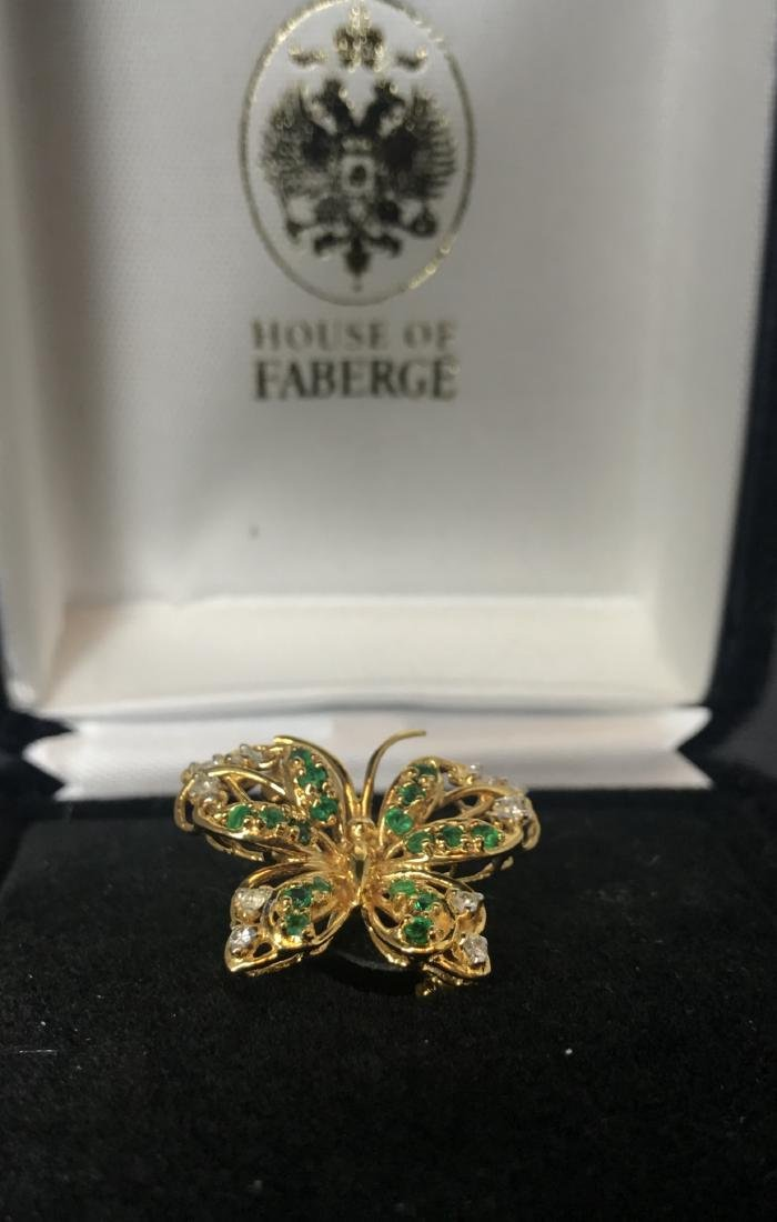 FABERGE IMPERIAL JEWELED EGG - 5
