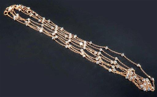 One Kilo Gram Italian Rose Gold Necklace Chain - Jan 21