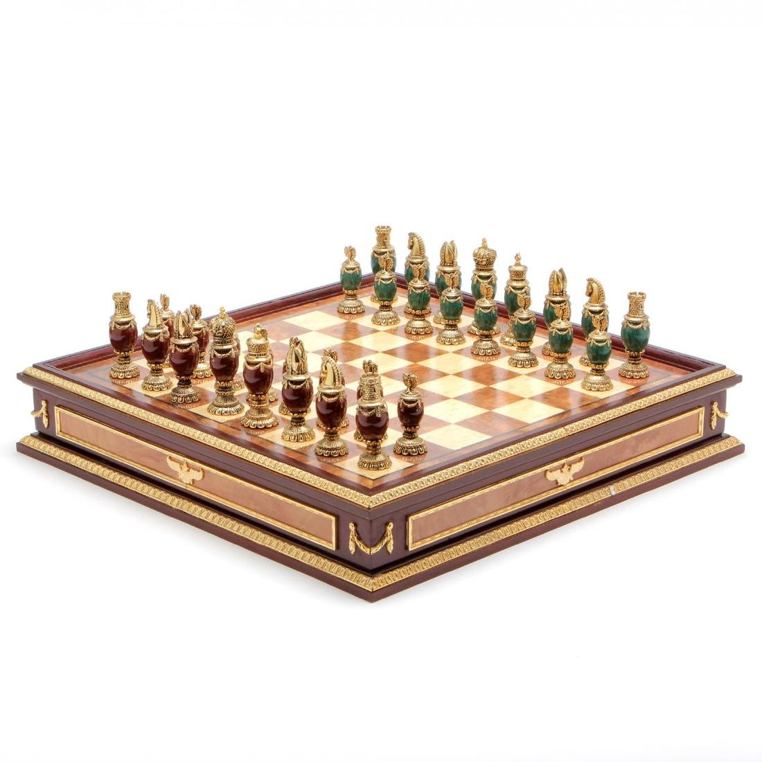 Faberge Imperial Jeweled Chess / Board Limited Edition - 6