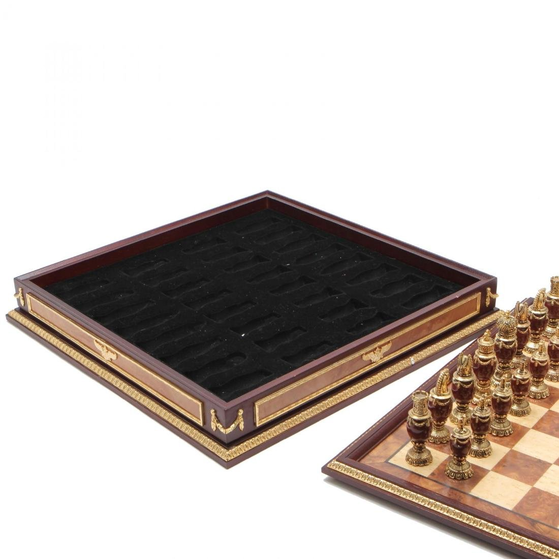Faberge Imperial Jeweled Chess / Board Limited Edition - 7