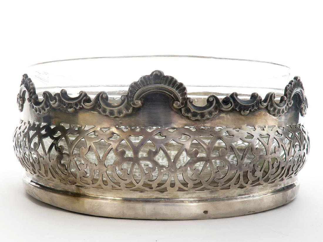 19th C. Silver-plate Centerpiece - 2