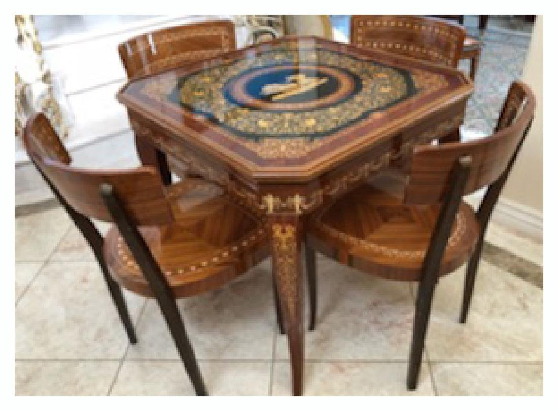 An Italian Neoclassical Marquetry Games Table - 2