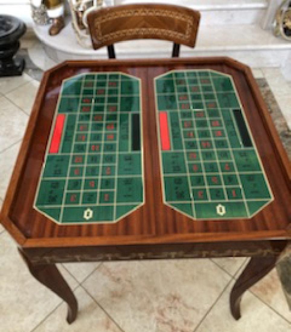 An Italian Neoclassical Marquetry Games Table - 3