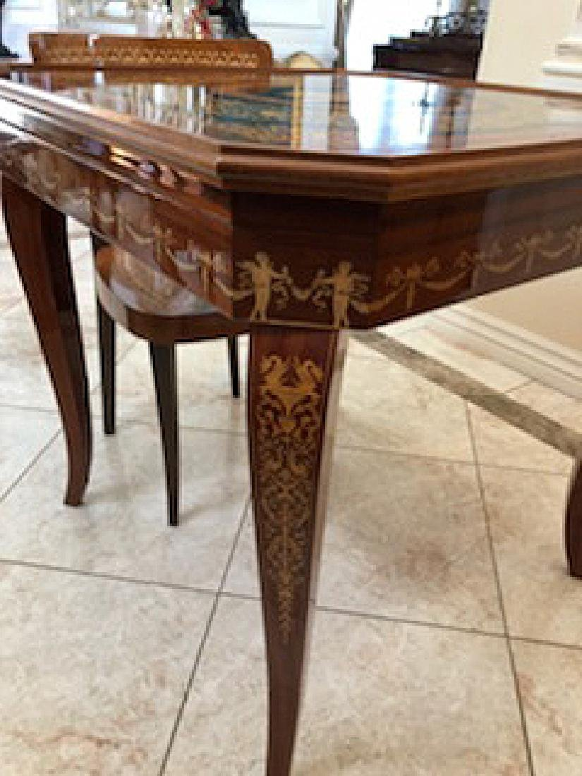 An Italian Neoclassical Marquetry Games Table - 9