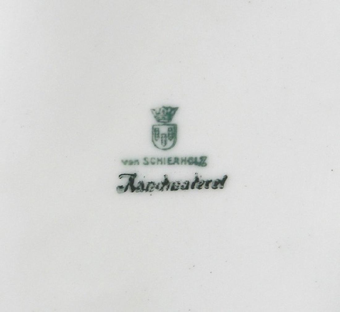 Pair of Schierholz Porcelain wall sconces - 4