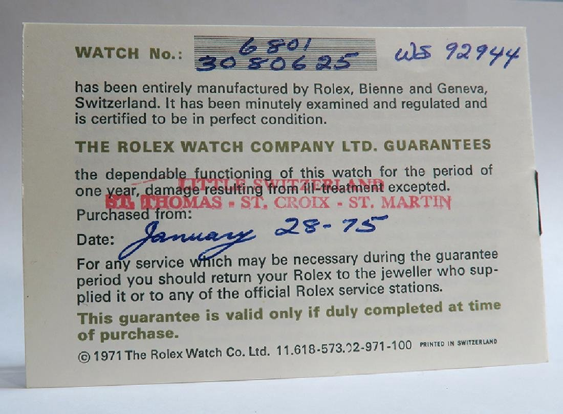 18K Gold Oyster Perpetual Rolex Ladies Wrist Watch - 9