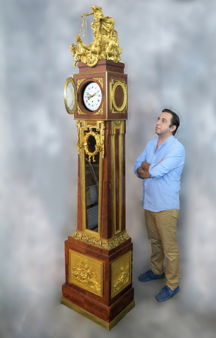 """""""Francois Linke"""" Regulateur de Parquet Longcase Clock"""