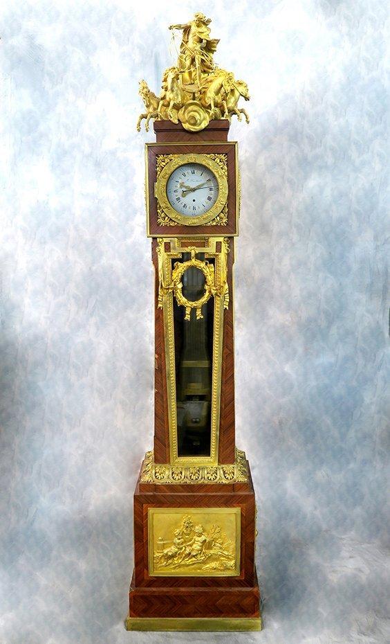 """""""Francois Linke"""" Regulateur de Parquet Longcase Clock - 2"""