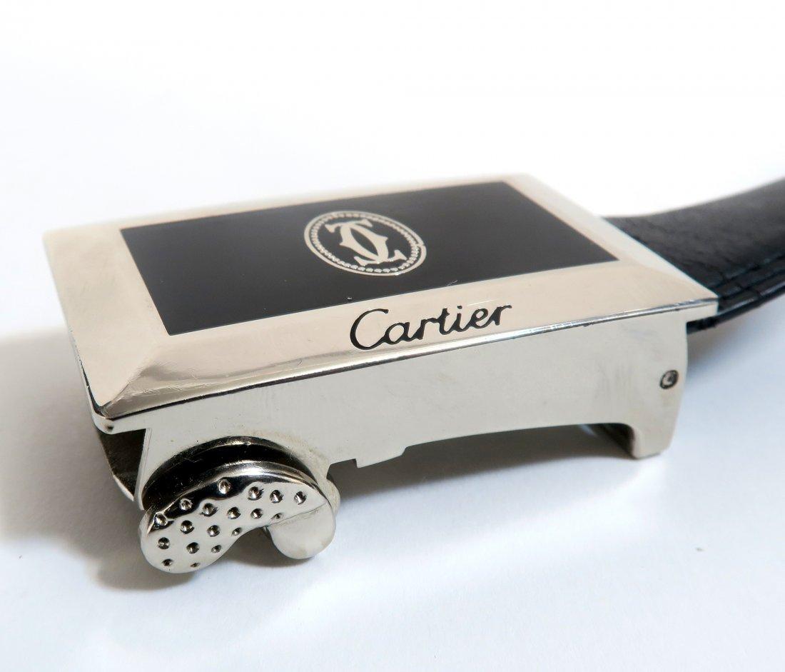 Authentic CARTIER Leather belt - 3