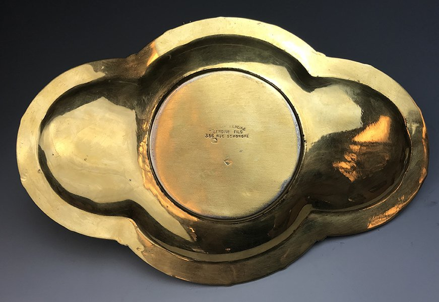 An Important and Rare French Silver Gilt Table Bell - 5