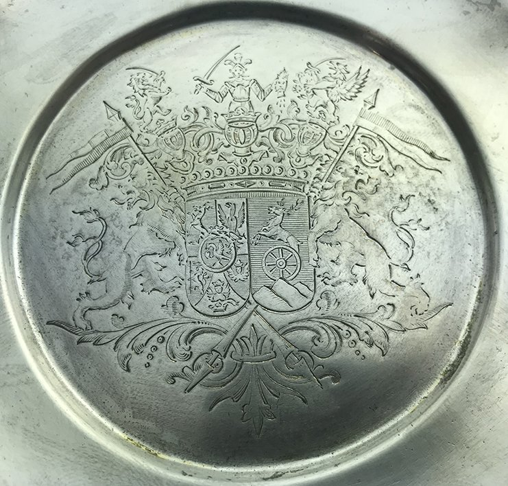 An Important and Rare French Silver Gilt Table Bell - 7