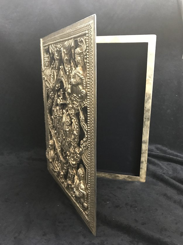 Sterling Silver Book Case