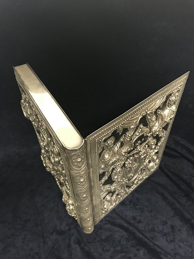 Sterling Silver Book Case - 5