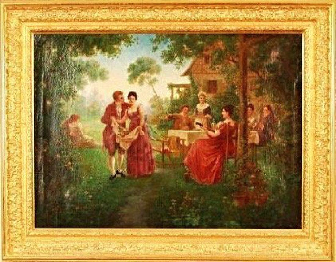 A. Gilbert (19th century) Garden Party