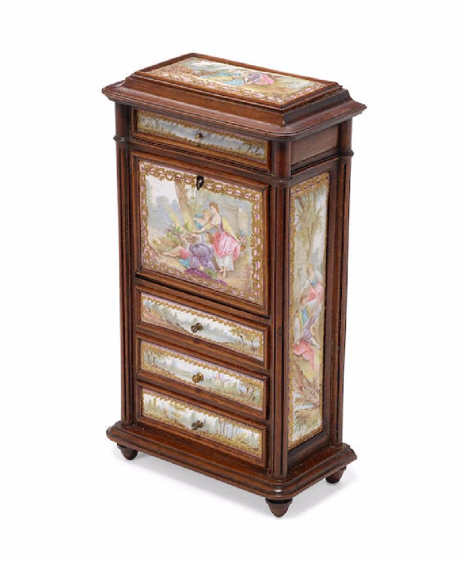 """A Miniature Louis XVI Style """"Secretaire a abattant"""""""