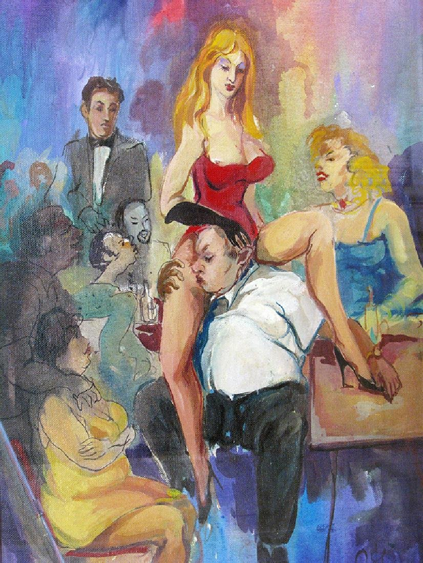 """Los Candiles 4"""" Painting By """"Arthur Zakarian"""