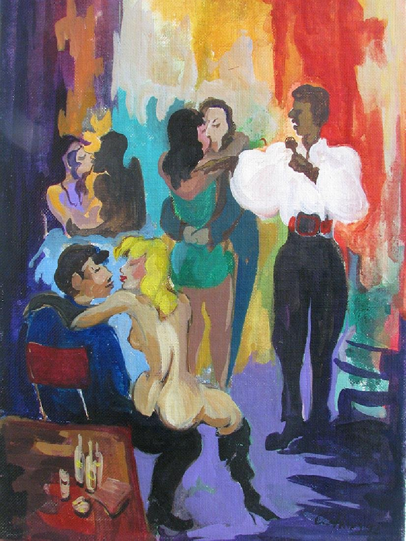"""Los Candiles 3"""" Painting By """"Arthur Zakarian"""