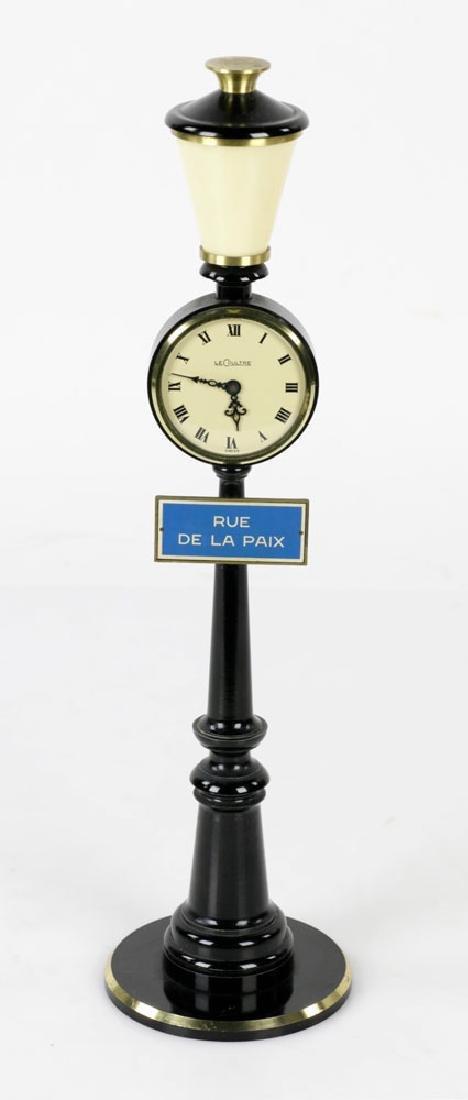 LeCoultre Rue de la Paix Lamp Post Clock