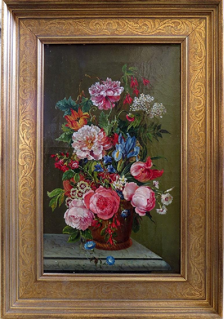 "Dutch School (19th Century) ""Floral Still Life\"""