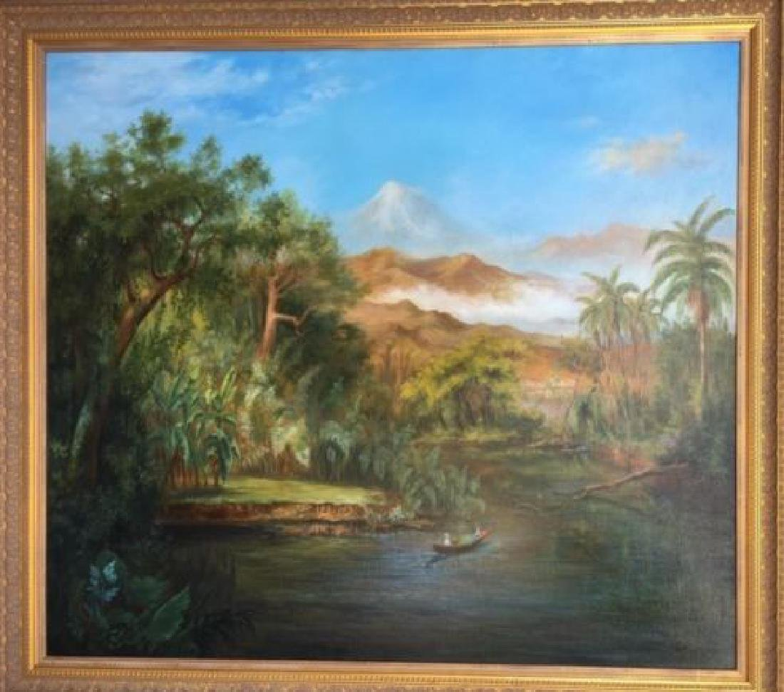 "Landscape"" Oil on Linen By ""Arthur Zakarian"