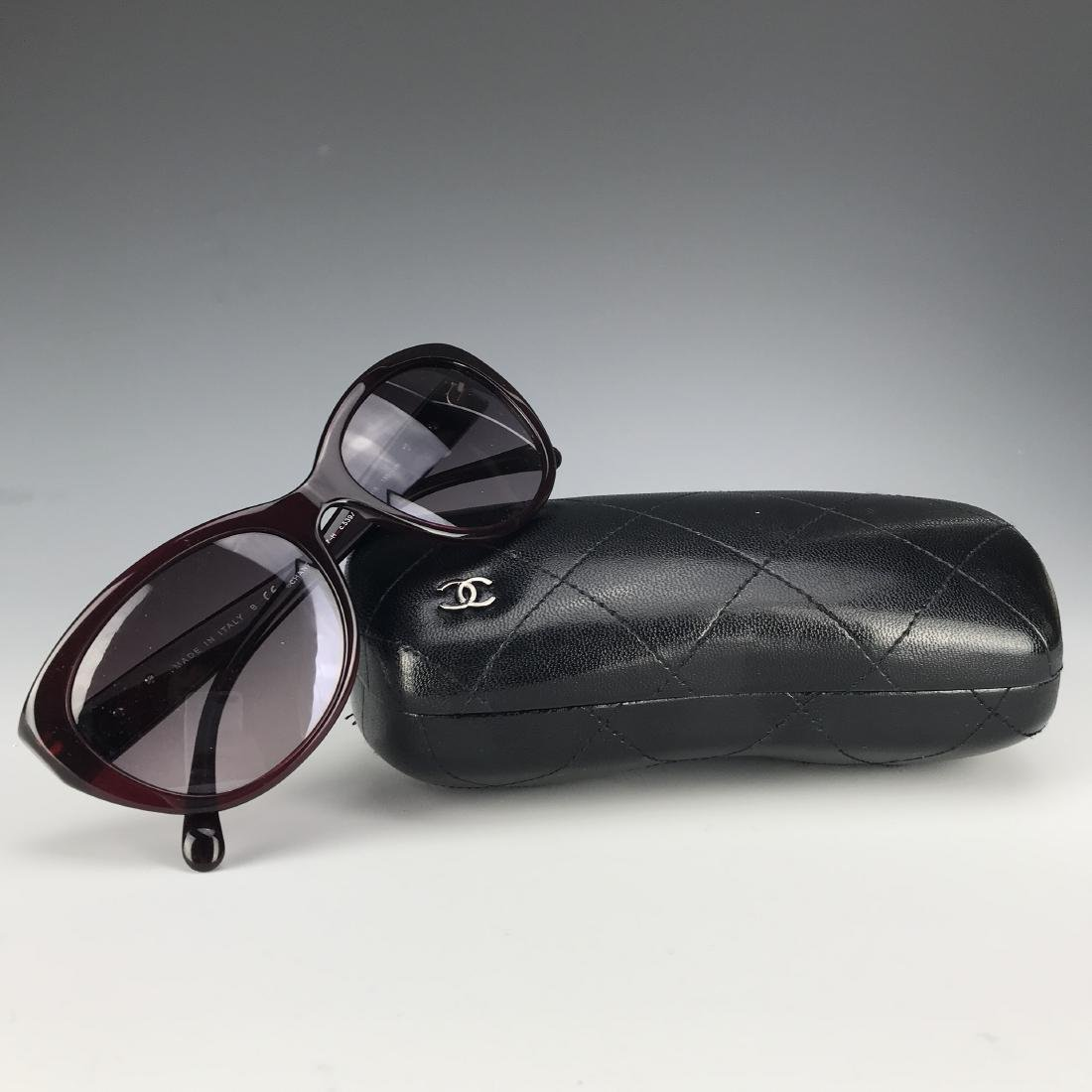 Authentic Chanel Black Sunglasses