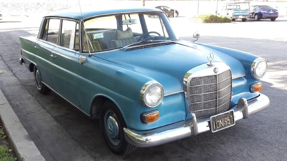 1964 Classic Mercedes Benz 190D 4 cylinder clean title