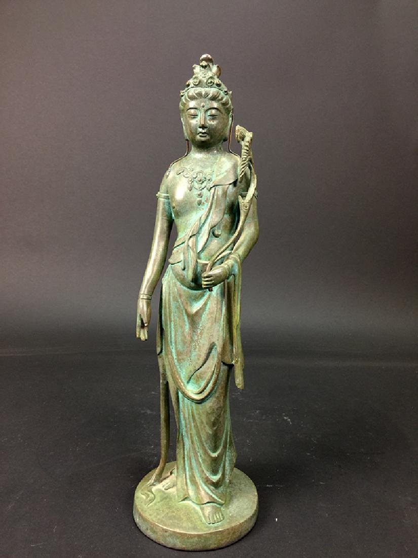 An Old Chinese Bronze Sculpture