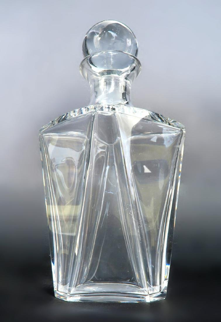 A Baccarat Decanter