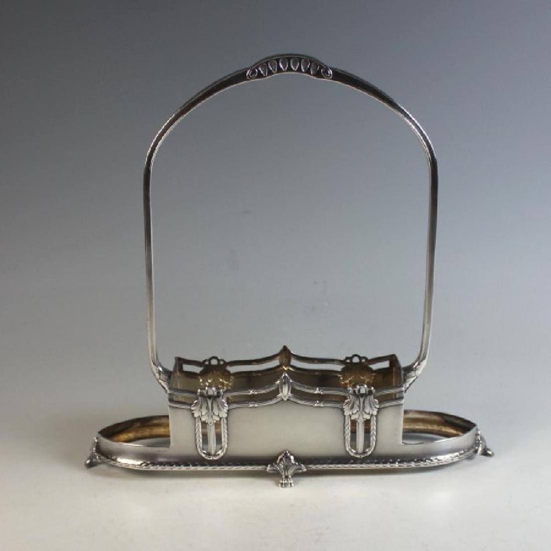 "French ""WMF"" Silver plate Cruet Set, 1910-1918 - 7"